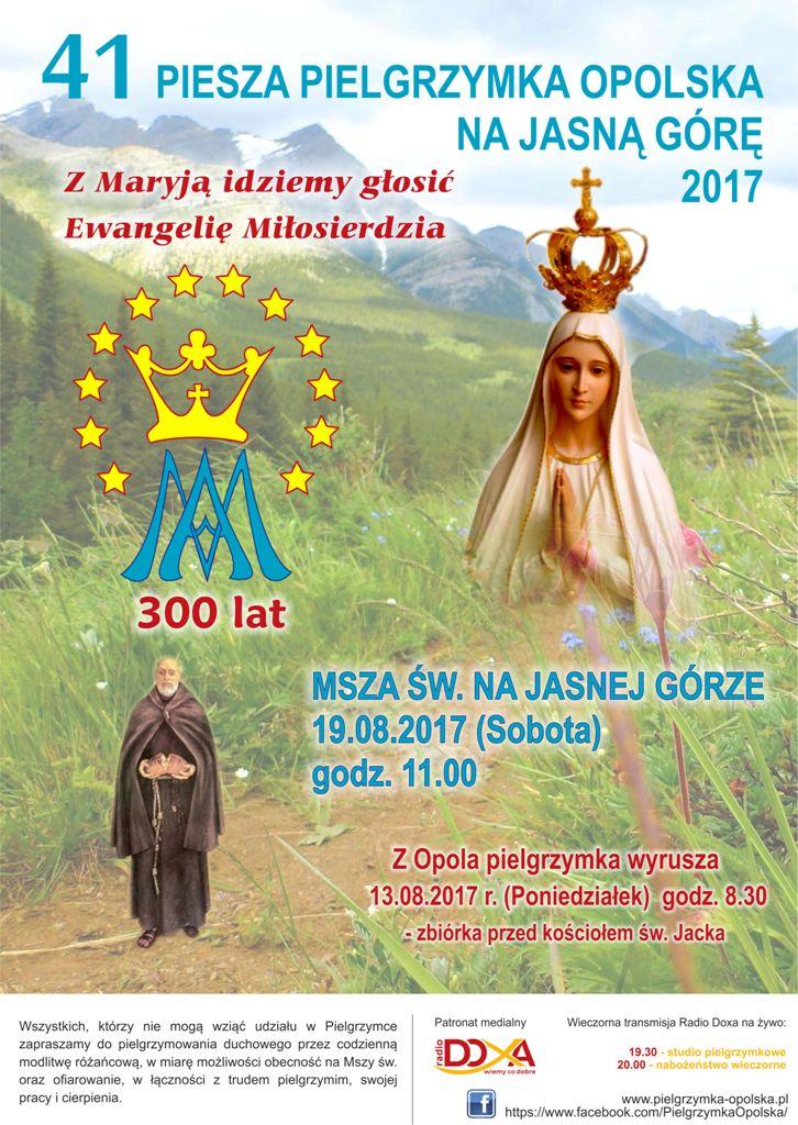 piesza opolska pielgrzymka 2017