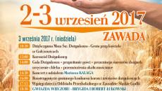 plakat dozynki 2017
