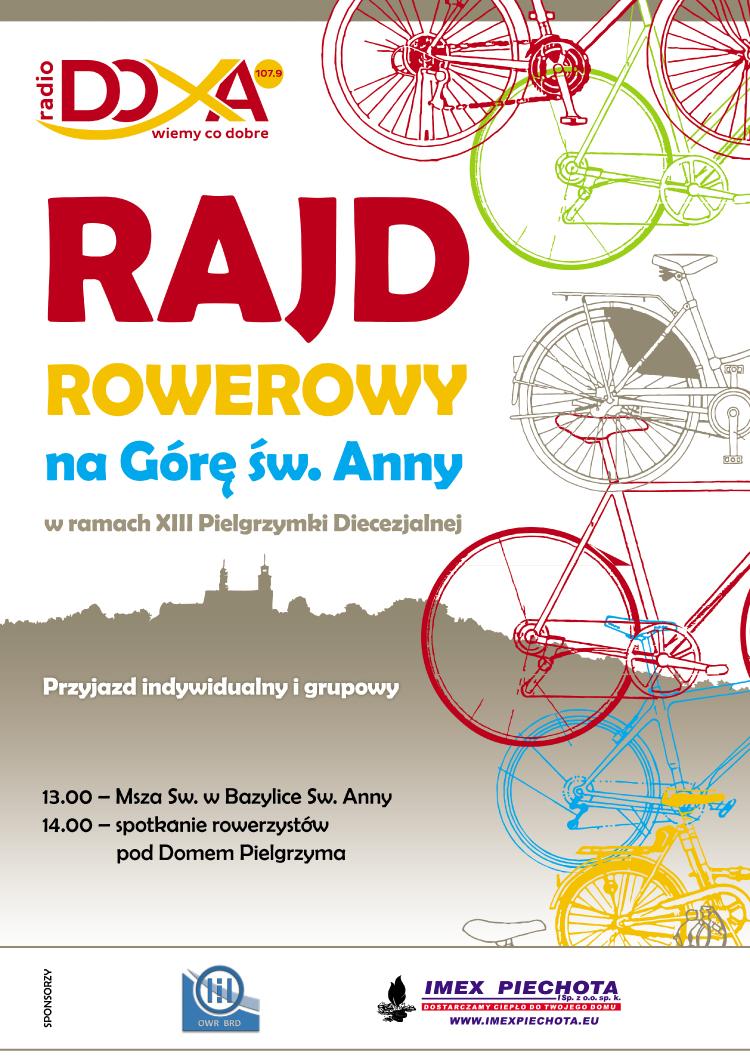 DOXA - Rajd Rowerowy 2018 - plakat A3