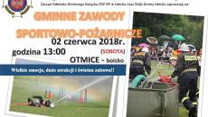 Gminne Zawody Sportowo-Pozarnicze