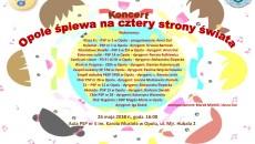 Plakat - Opole śpiewa na czterystrony świata