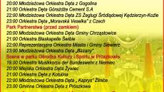 Prószkowska Parada Orkiestr plakat