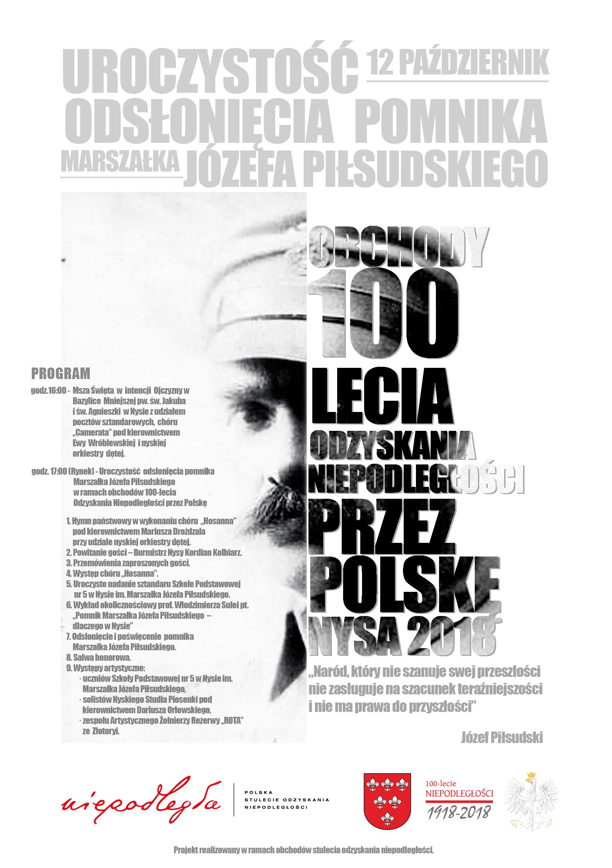 plakat 12 październik 2018