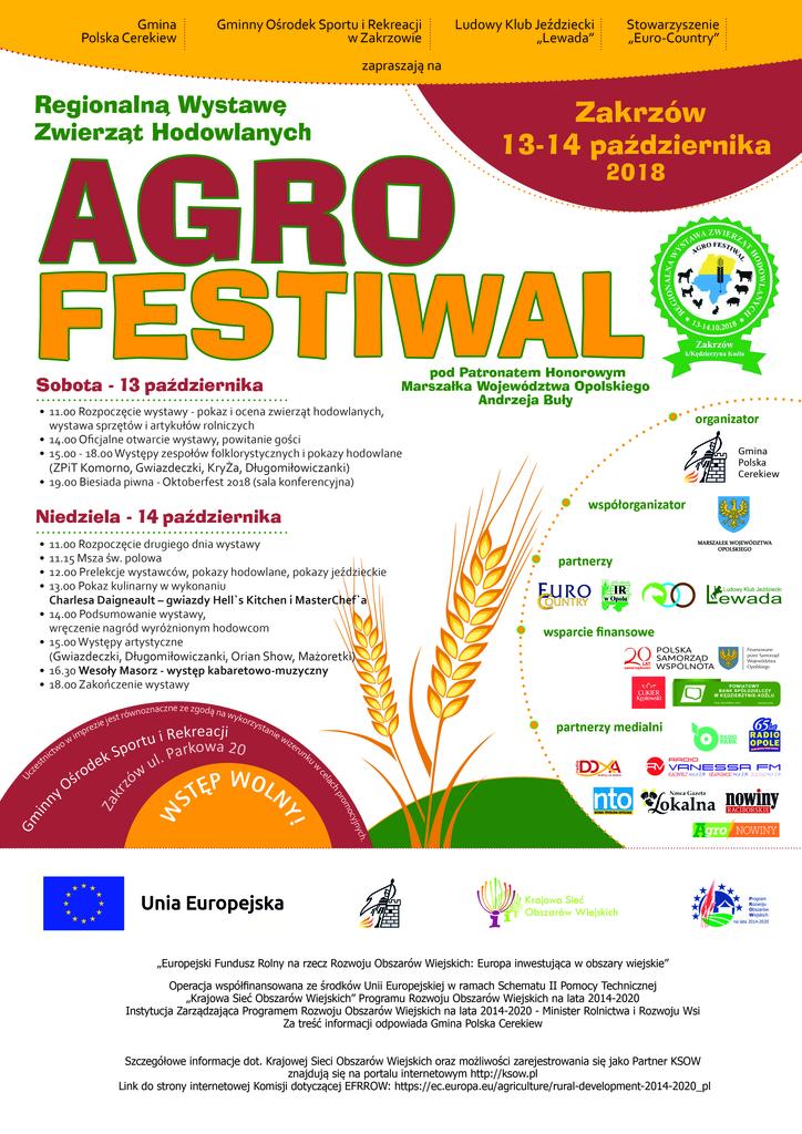 ug cerekiew plakat wystawa rolnicza 2018_ a3