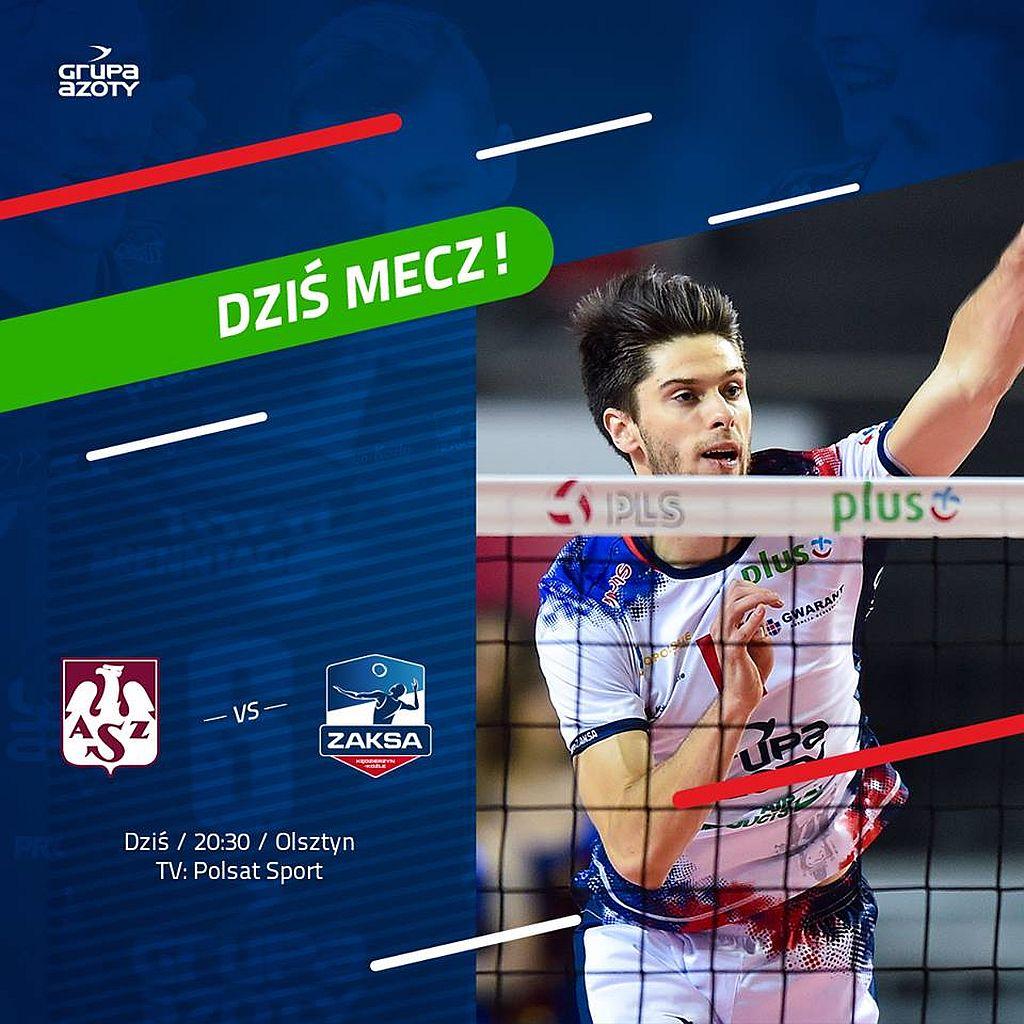 ZAKSA Gra W Olsztynie Radio Doxa FM Opole K U0119dzierzyn