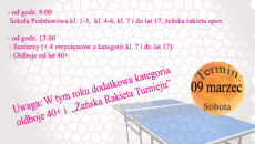 Turniej tenisa musrów
