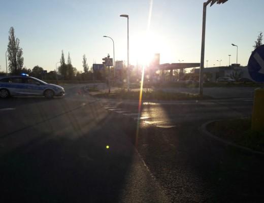 0421_Gaz_Wyciek_Opole_Sosnkowskiego_BlokadaUlicy_Policja