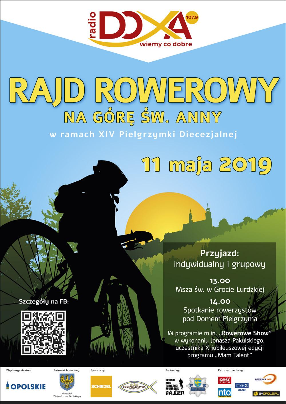 Plakat XIV Rajd Rowerowy