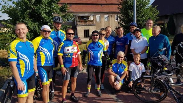 rowerzyści z cyprzanowa