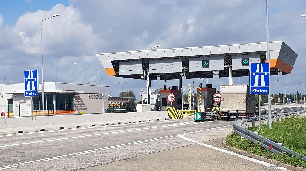 0917_Punkt poboru opłat autostrada A4 Gogolin
