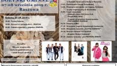Tarnów_Plakat Dożynki Gminne 2019
