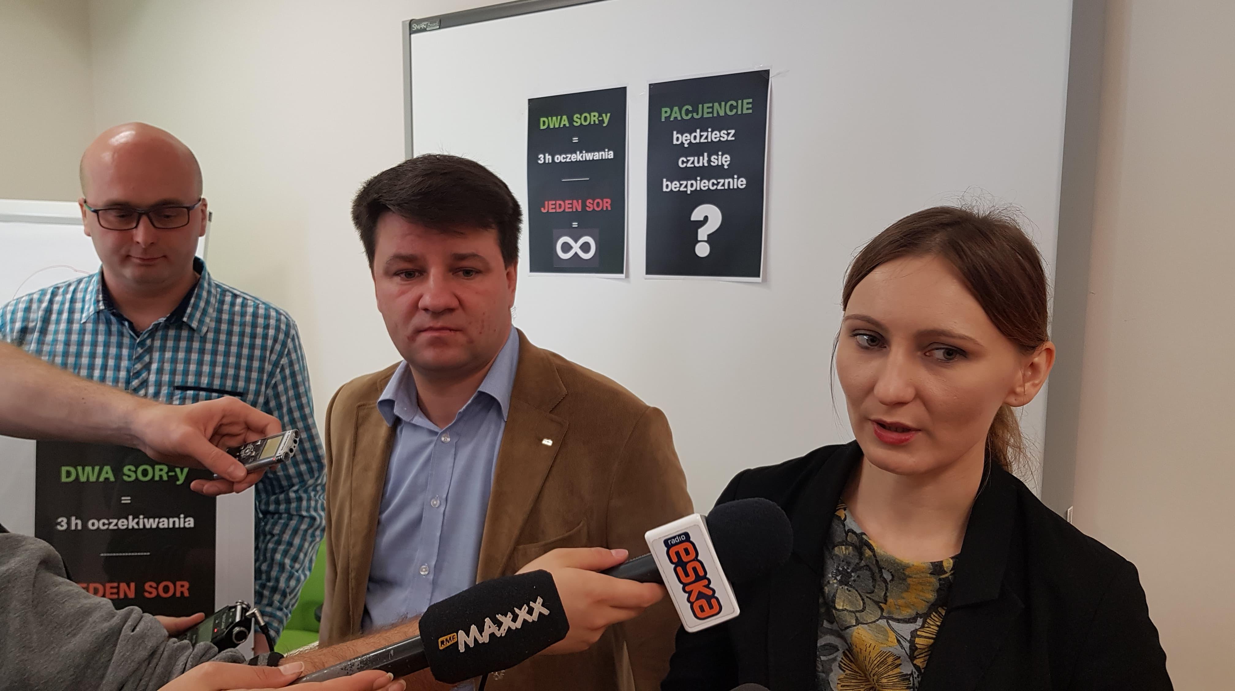 1009_SORspec(TS) od lewej Dariusz Kupis Marcin Laskowski Aleksandra Cymbał
