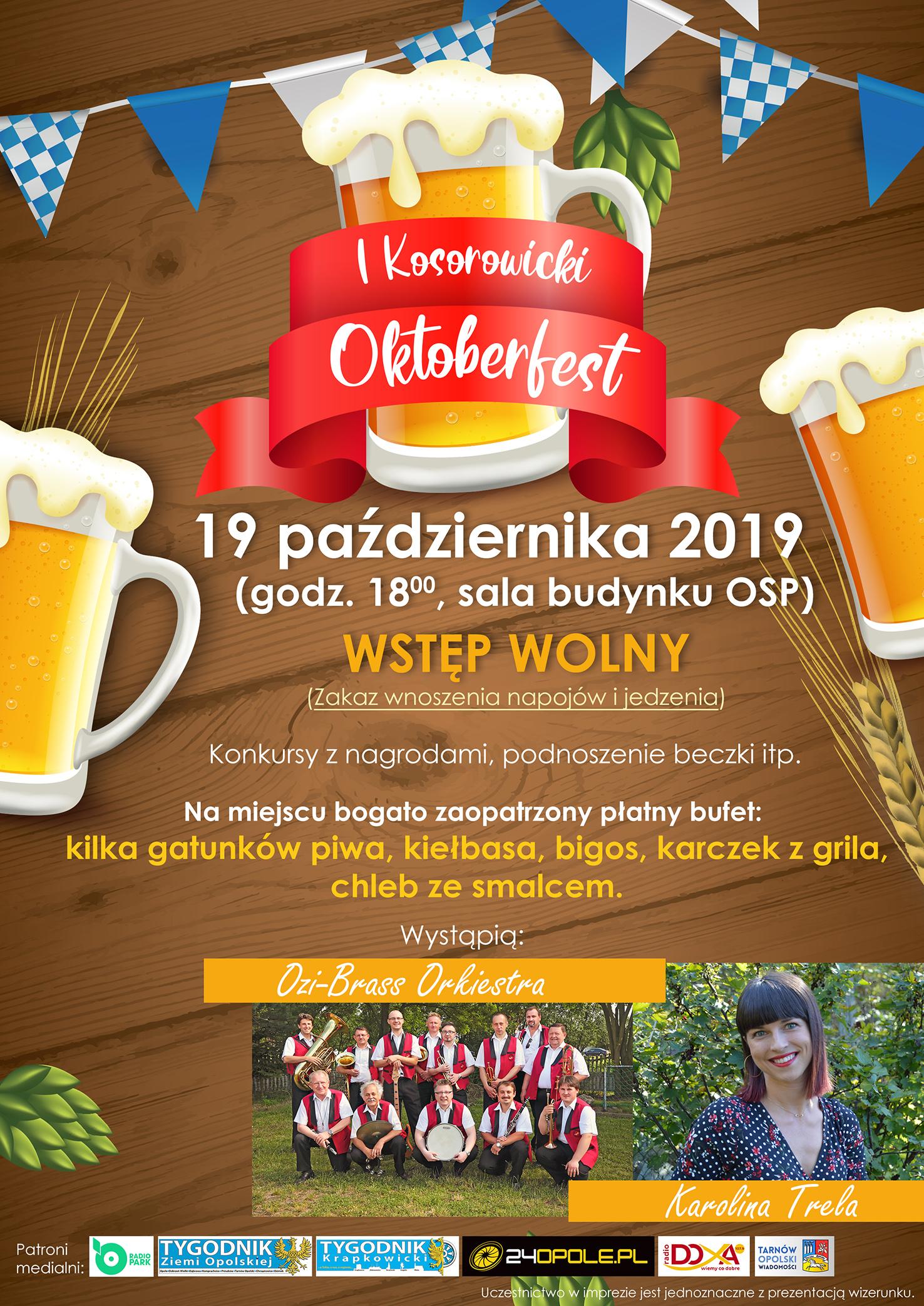 I Kosorowicki Oktoberfest PLAKAT