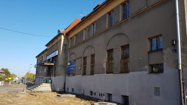 Olesno_dworzec PKP