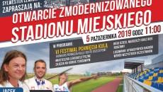 Olesno_otwarcie stadion plakat
