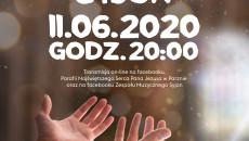 Plakat KONCERT CHWAŁY Boze Ciało 2020 SYJON