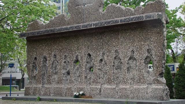 Pomik Ofiar Rzezi Woli fot. Wikipedia